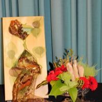 Flowers & Fibres - Demo by Jennie Munro (NZ)